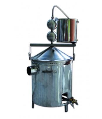 Alambiques destiladores en acero inoxidable