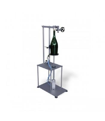 Mouseleuse manuelle pour bouteilles magnum