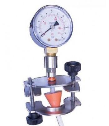 Afrómetro para medir presión continua en botellas de espumoso