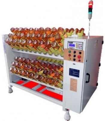 Machine pour remouage automatic des bouteilles champagne