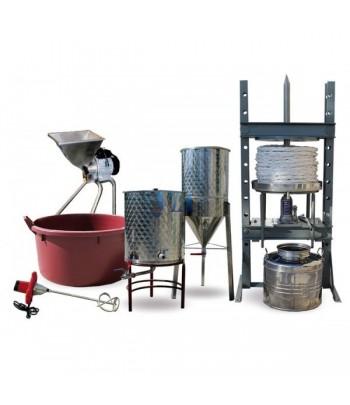 Pack machines pour l´elaboration artesanale d´huile olive