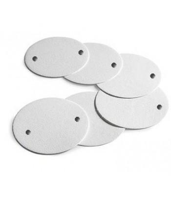 Placas 310 mm cartones filtrantes para aceite de oliva