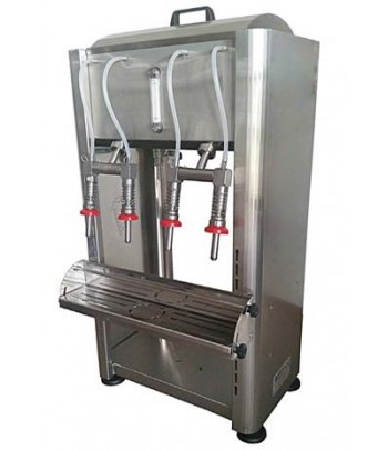 Llenadoras semiautomáticas INOX de sobremesa para aceite