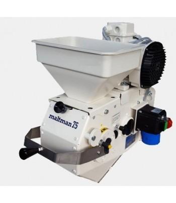 Molino a motor modelo mini para molturar malta o cereal