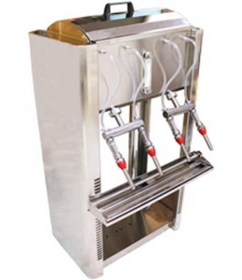 Llenadoras semiautomaticas INOX de sobremesa para vino