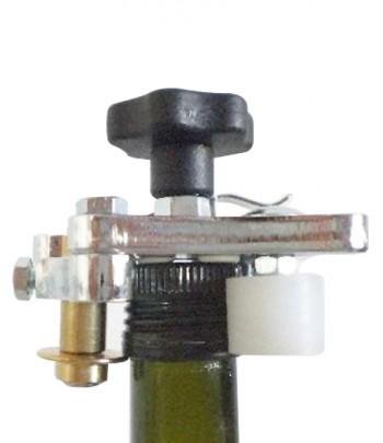 RÉGLABLE POUR LES BOUTEILLES MIGNON DE 24 À 44 mm DE DIAMÈTRE (avec kit supplémentaire)