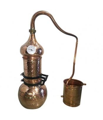 Destiladores de columna en cobre