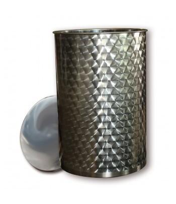 Cuve d'huile en acier inoxydable 304 avec couvercle en tôle d'huile uniquement