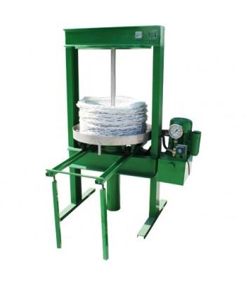 Prensa hidráulica para aceitunas con motor eléctrico