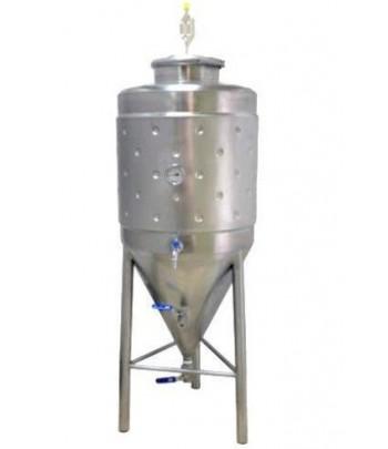 Cuves inox cylindro conique pour fermentation - maturation